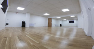 Dance Studio and Mirrors