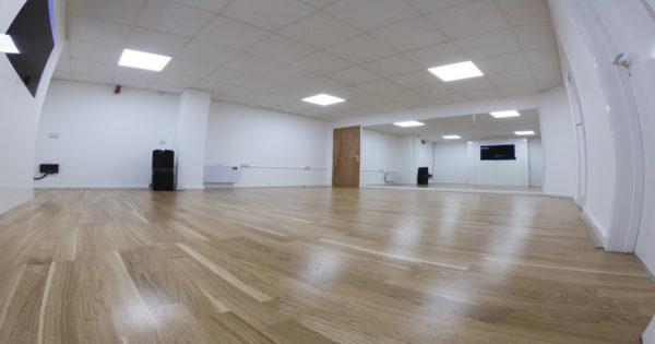 Dance Studio and Mirrors